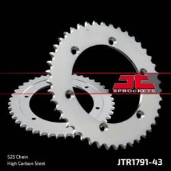 Metalinė galinė žvaigždutė JTR1791.43