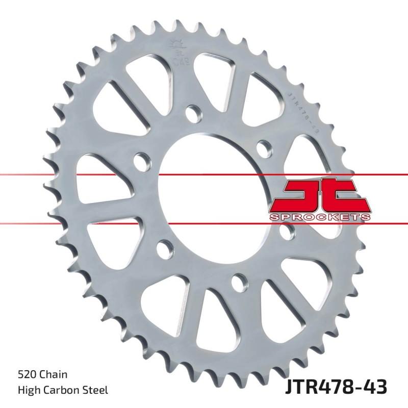Metalinė galinė žvaigždutė JTR478.43