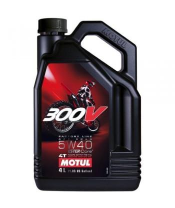 MOTUL 300V Factory Line Off Road 5w40 4L