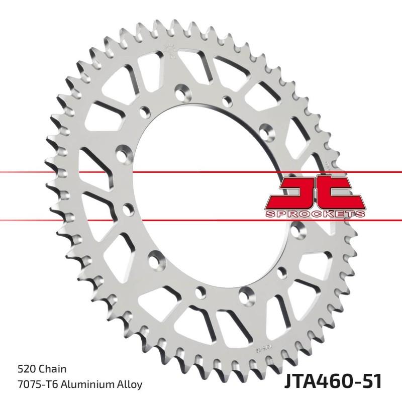 Aliuminė galinė žvaigždutė JTA460.51