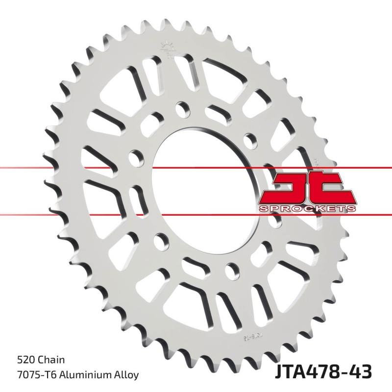 Aliuminė galinė žvaigždutė JTA478.43
