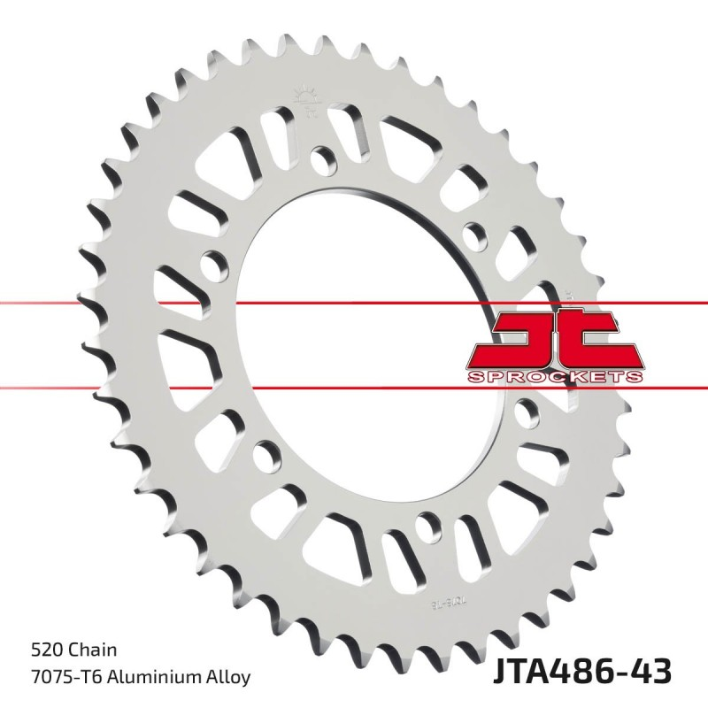 Aliuminė galinė žvaigždutė JTA486.43