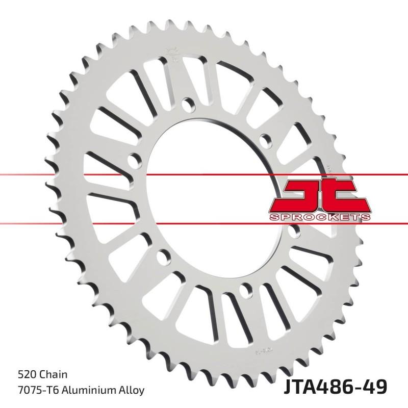 Aliuminė galinė žvaigždutė JTA486.49